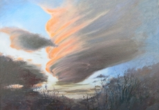 An Extraordinary Cloud above Ross on Wye