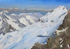 Arrivee au Glacier Blanc