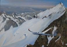 JAC arrivee au Glacier Blanc