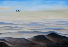 The club K6 in East Wave at 8000ft, oil, 20 x 16 ins
